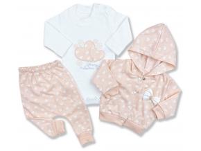 oblečenie pre bábätká srdiečko set