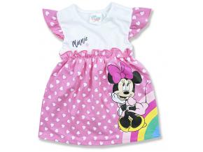 kojenecké oblečenie šaty minnie