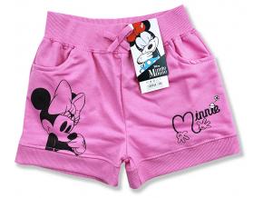 detské oblečenie krátke nohavice minnie mouse1