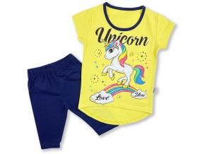 Letný set pre deri a bábätká unicorn