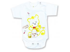 detské body krátky rukáv bear1+