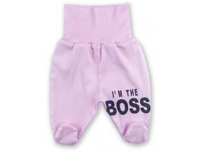kojenecké dupaačky ružové boss2