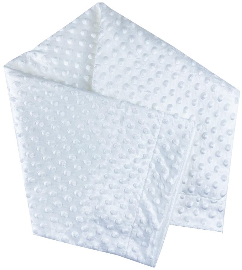 Detská deka - FLUFFY, biela 80x100cm