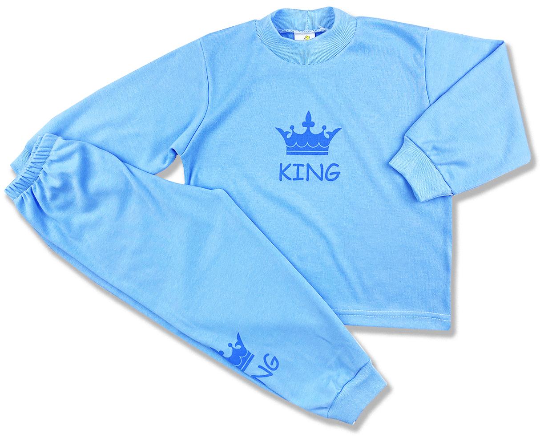 Detské pyžamo - KING, modré veľkosť: 116