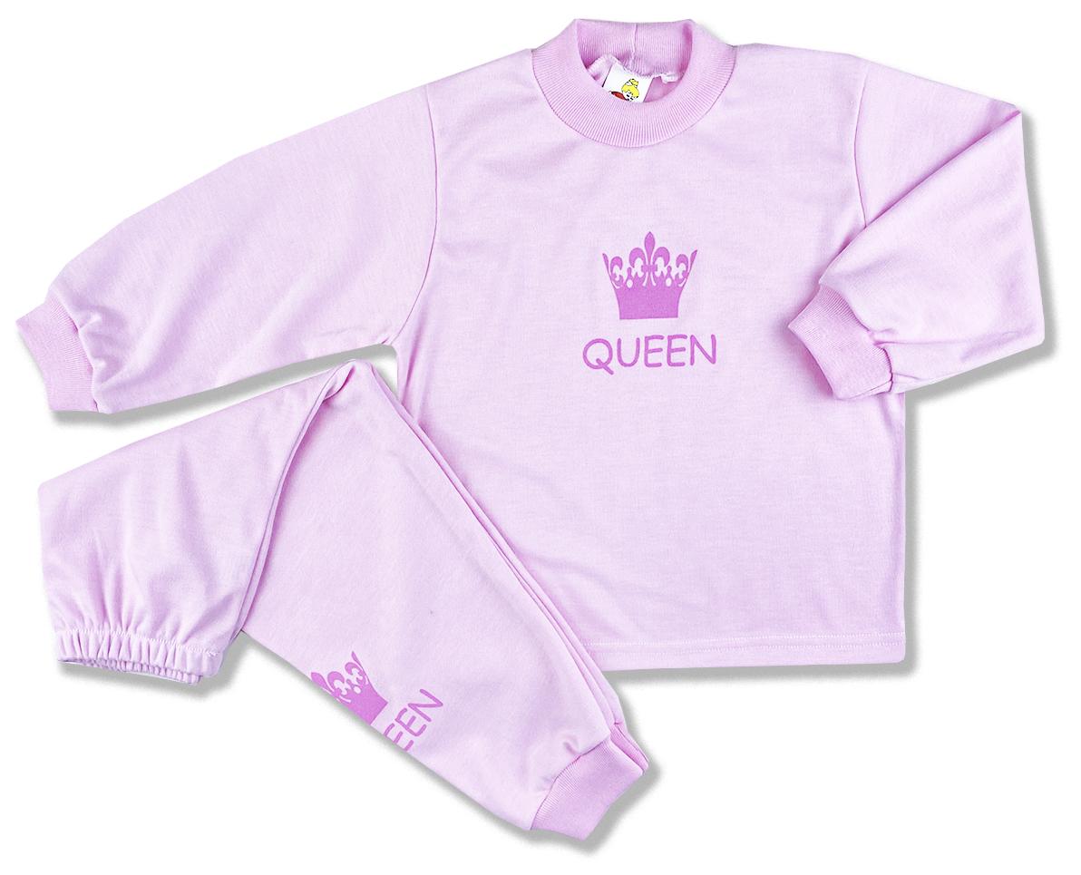 Detské pyžamo - Queen, ružové veľkosť: 116