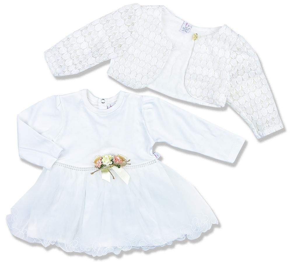Spoločenské oblečenie pre bábätká - Krst veľkosť: 86