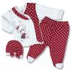 oblečenie pre bábätká macko1