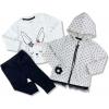 oblečenie pre bábätká zajac