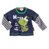 Chlapčenské tričko - MONSTER, tm.modré