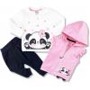 3dielny set s vestičkou oblečenie pre bábätká p