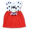 Letné šaty pre bábätká Lienka3, ružové