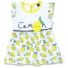 Letné šaty pre bábätká Lemon1.