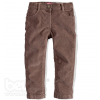 Dievčenské menčestrové nohavice - MINOTI, hnedé
