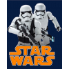Detská deka Disney - Star Wars, tm. modrá, 120x150cm