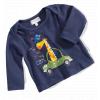 Dojčenské tričko – Auto, tm. modré