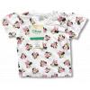 Tričko pre bábätká, krátky rukáv - Minnie, biele