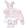 3 dielne oblečenie pre bábätká myš