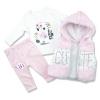 oblečenie pre bábätká set flamingo