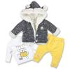 kojenecké oblečenie hippil žltý