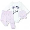 kojenecké oblečenie set princess