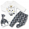 oblečenie pre bábätká love you copy