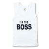 detské oblečenie tričko boss