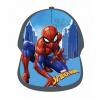 Detská šiltovka - Spiderman, sivá