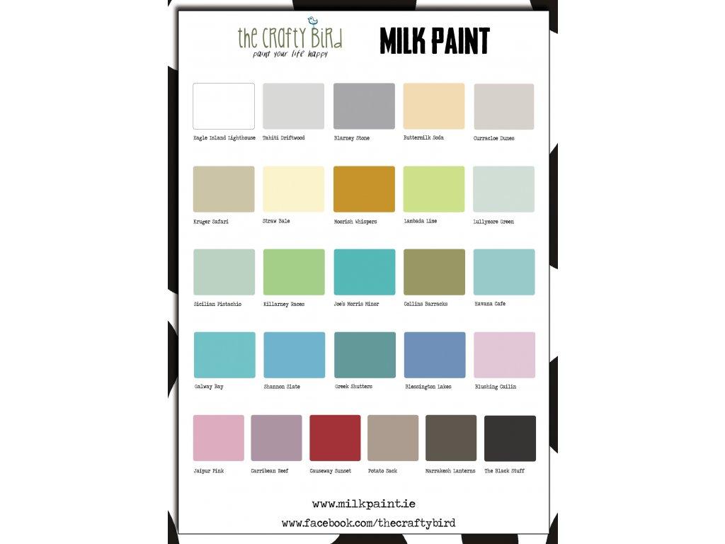 Milk paint colour chart free milk paint colour chart jul 16 nvjuhfo Choice Image