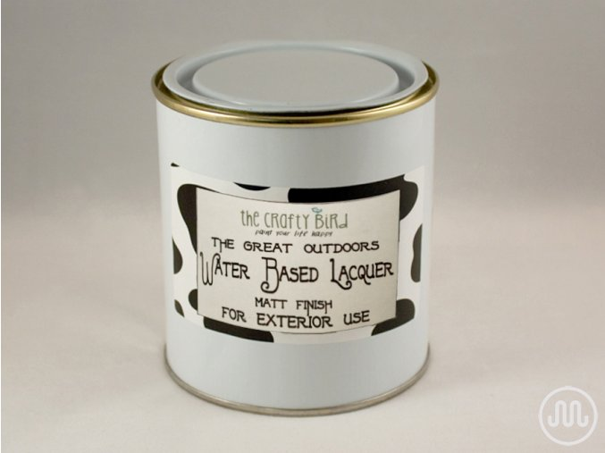 Semi-matt Water Based Lacquer - exterior