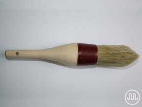 Round wedge brush