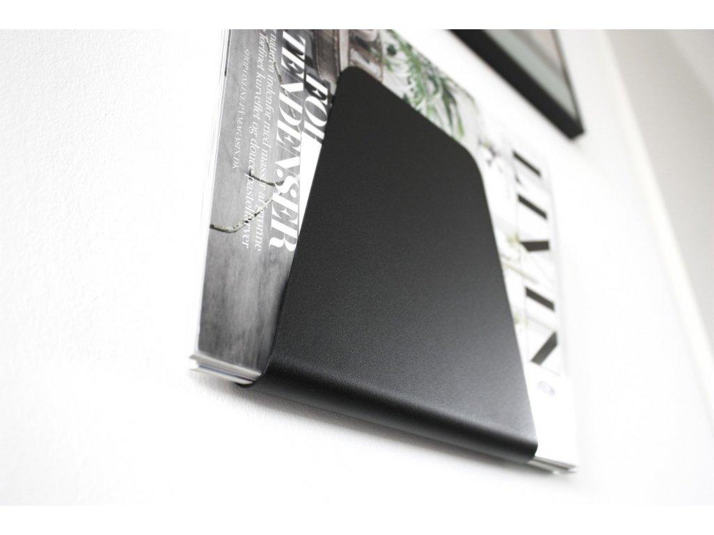 Stojan na časopisy - Black