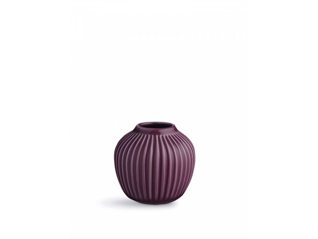 Váza Hammershøi Plum - 13 cm