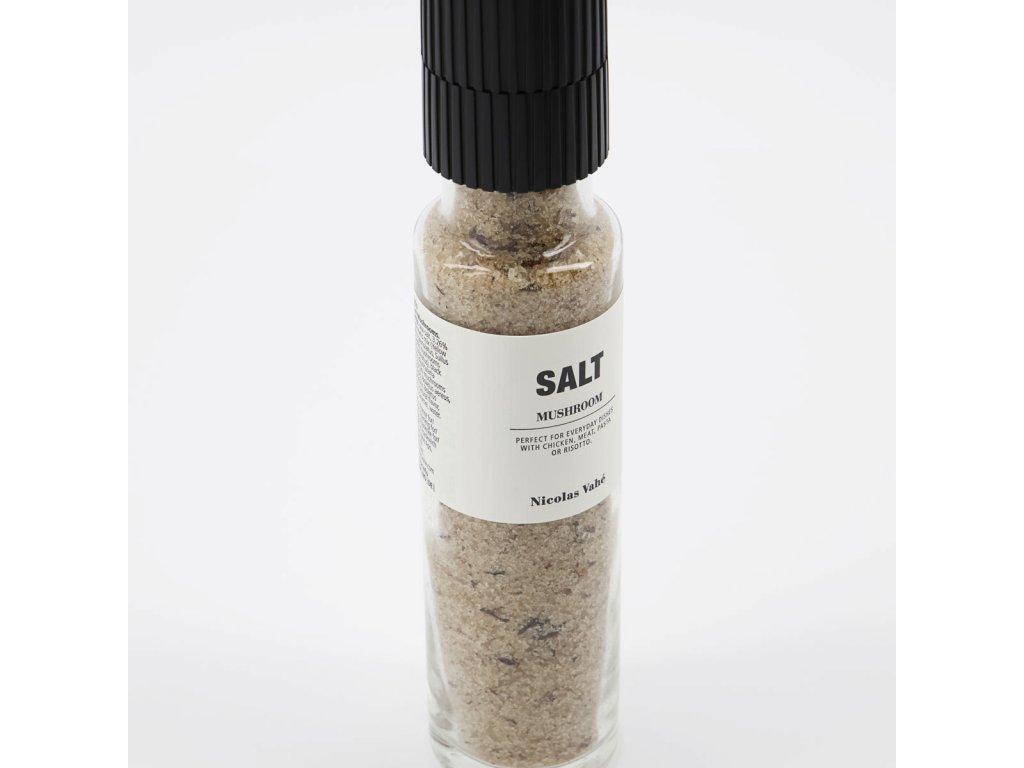 Sůl se sušenými houbami