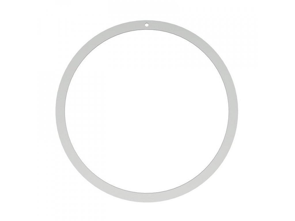 Stříbrný kruh na věnec - 40cm