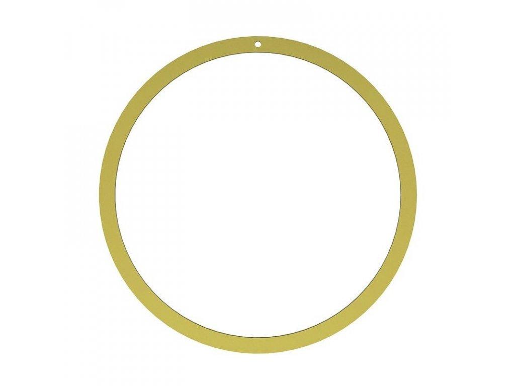 Zlatý kruh na věnec - 40cm