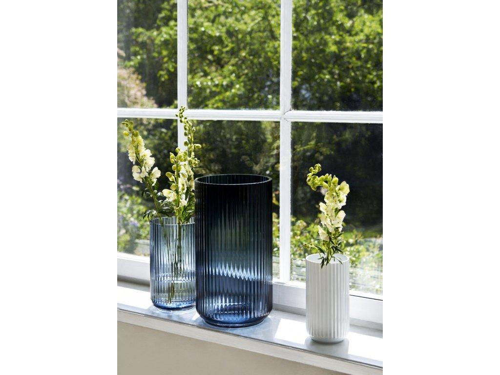 Váza Lyngby White - 15 cm
