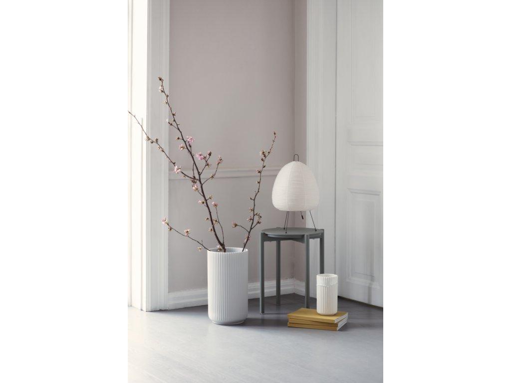 Váza Lyngby White - 38 cm