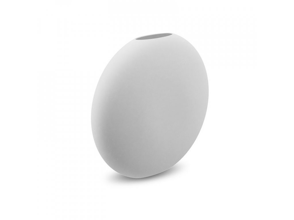 Váza Pastille White  - 20 cm