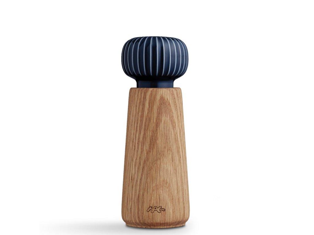Dřevěný mlýnek Hammershøi Indigo - M