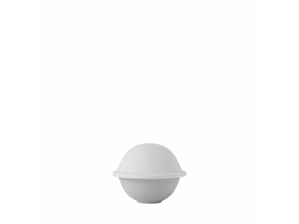 Dóza Chapeau Matt White - 12 cm