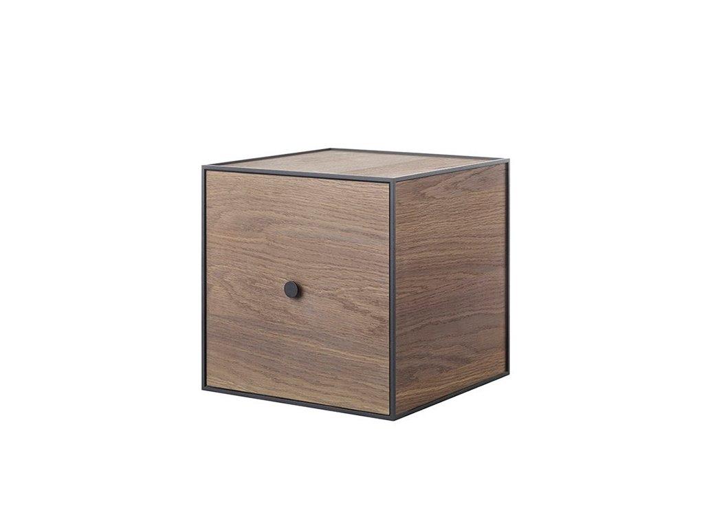 Polička Frame 35 - Smoked Oak