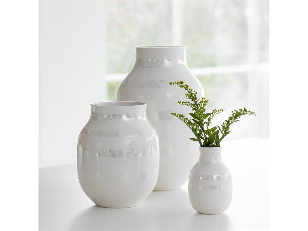 Váza Omaggio Pearl - 21 cm