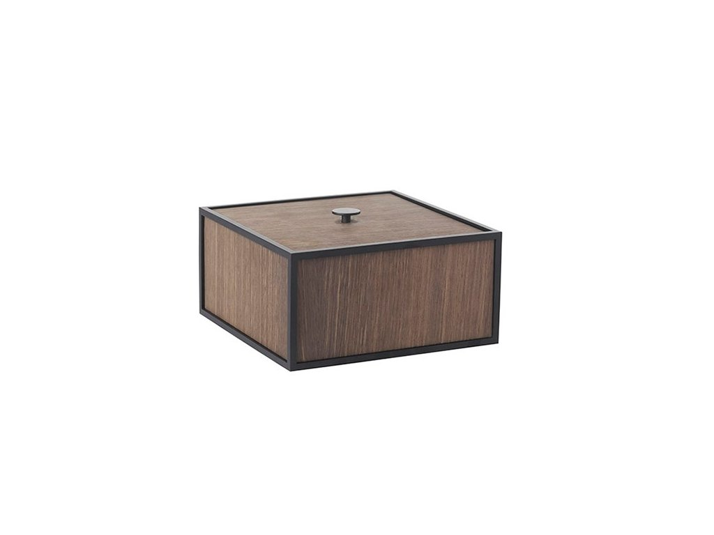 Úložný box Frame Smoked Oak - 20 cm