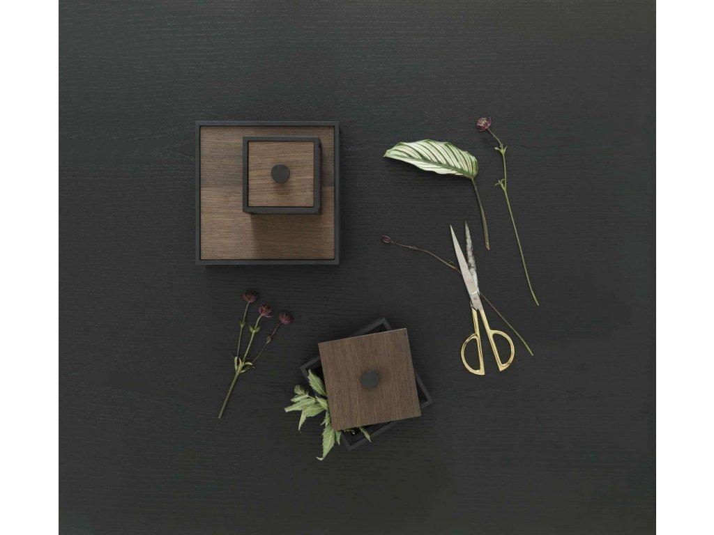 Úložný box Frame Smoked Oak - 10 cm