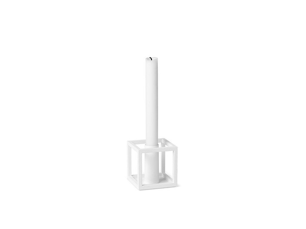 Svícen Kubus 1 - White