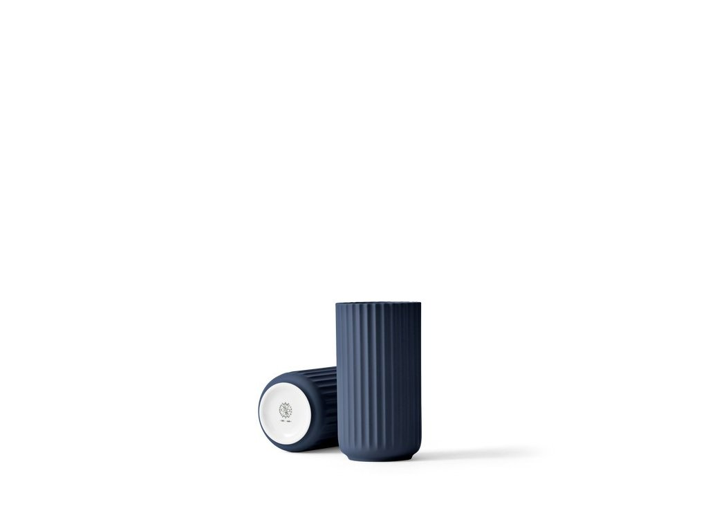Váza Lyngby Midnight Blue Matt - 15 cm