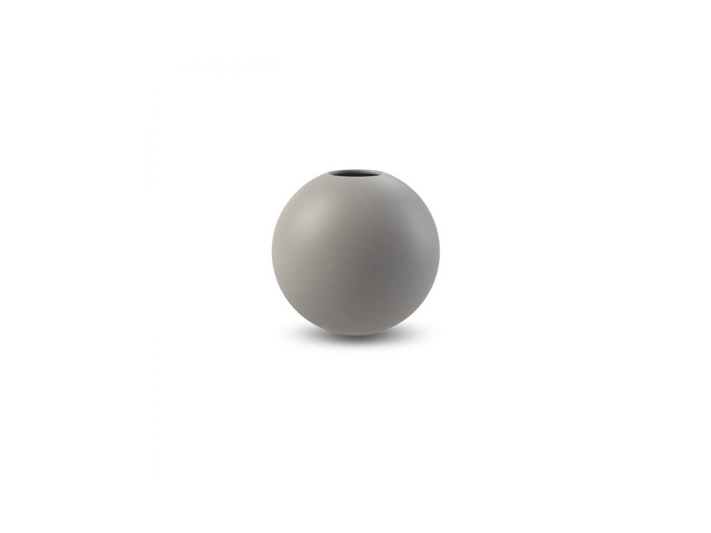 Váza Ball Grey  - 10 cm