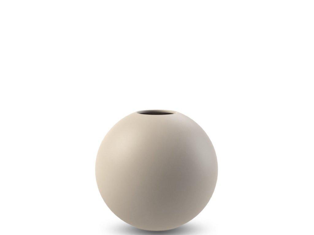 Váza Ball Sand - 10 cm