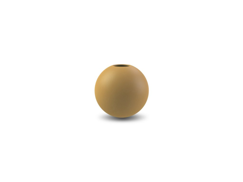 Váza Ball Ochre  - 8 cm