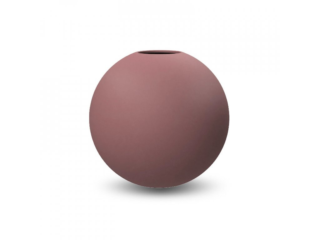 Váza Ball Cinder Rose  - 20 cm